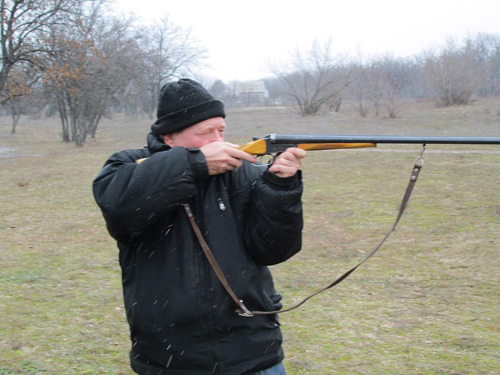 как стрелять по движущейся цели из охот ружья